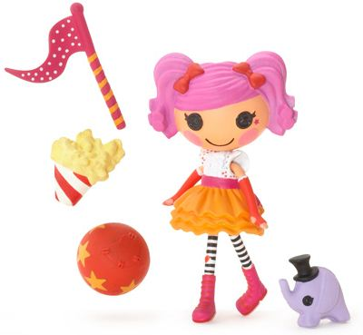 mini Lalaloopsy Peanut Big Top, con su mascota y accesorios