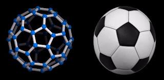fulereno c60 pelota de fútbol