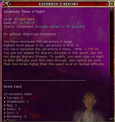 eVON Quest report