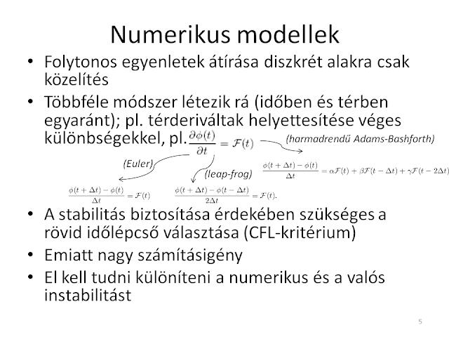 Közelítések, egyszerűsítések, számításigény