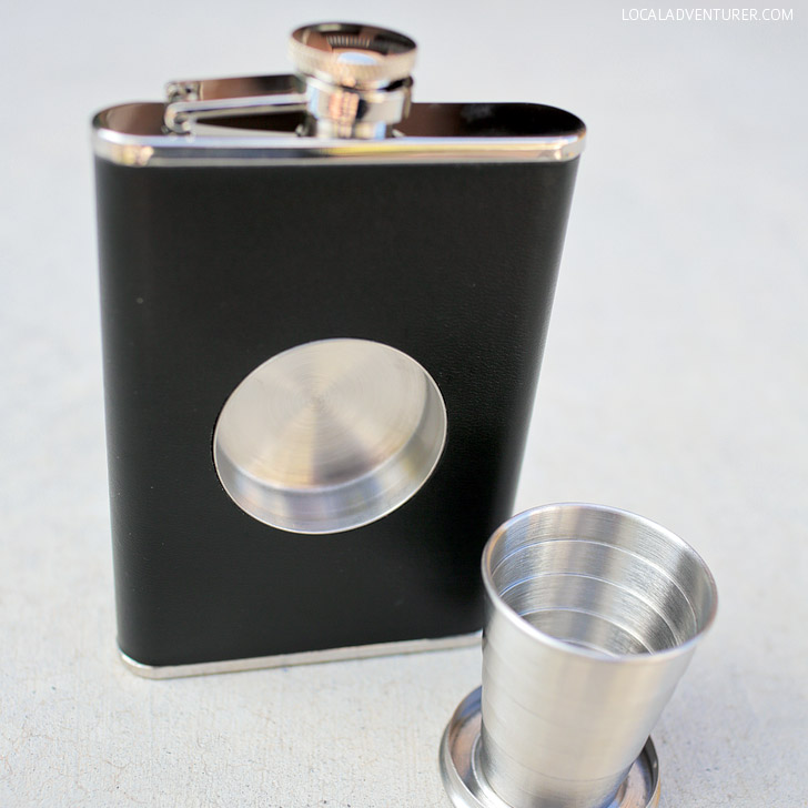 The Original Shot Flask - The perfect camping flask.