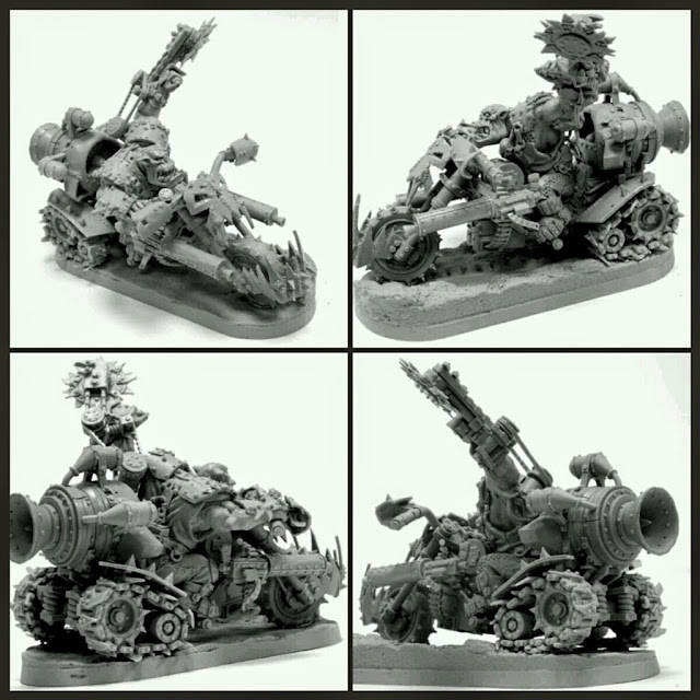 Moto Orc Warboss Forge World
