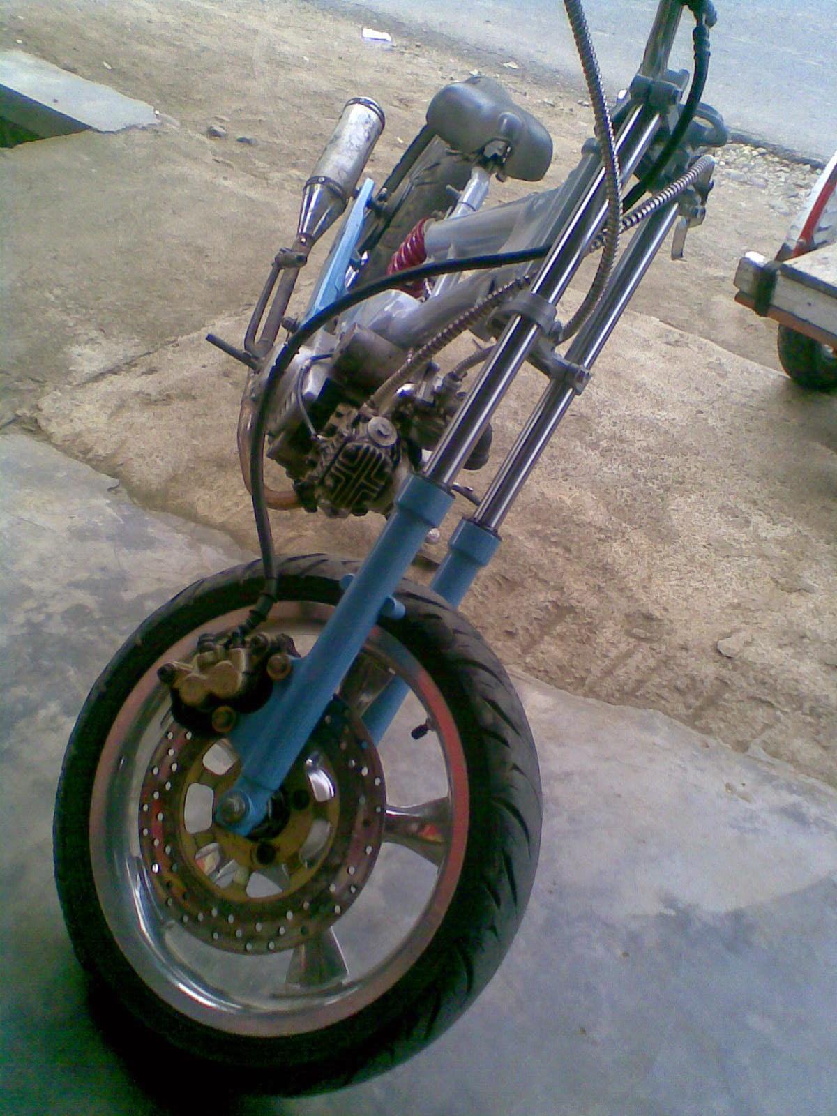 Modifikasi Honda Tiger Jadi Harley
