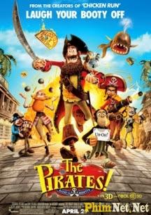 Phim Cướp Biển Đáng Yêu - The Pirates Band Of Misfits