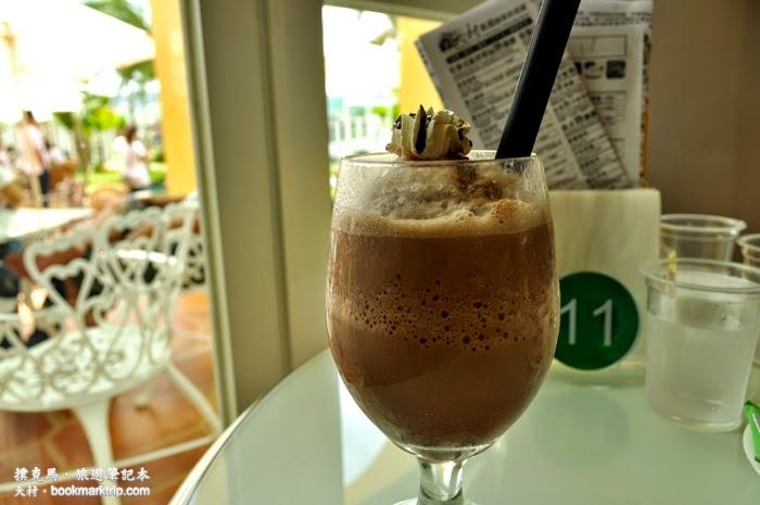 大村進昌咖啡烘焙館巧克力雪泡