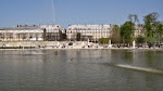 A great big pond in the Tuileries