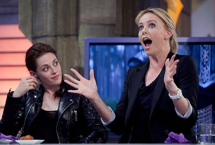 """Kristen Stewart y Charlize Theron estuvieron en """"El hormiguero"""""""
