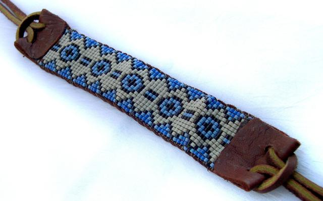 American Beaded Bracelet