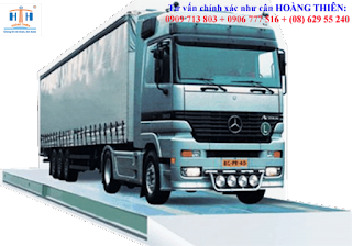 cân xe tải 12 mét là loại cân ô tô 40 tấn