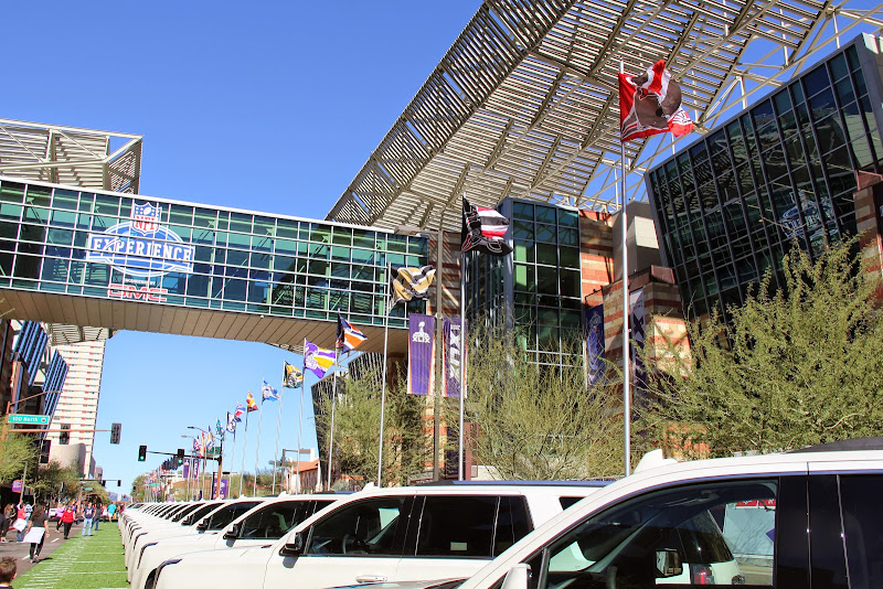 Super Bowl XLIVのコンベンション会場