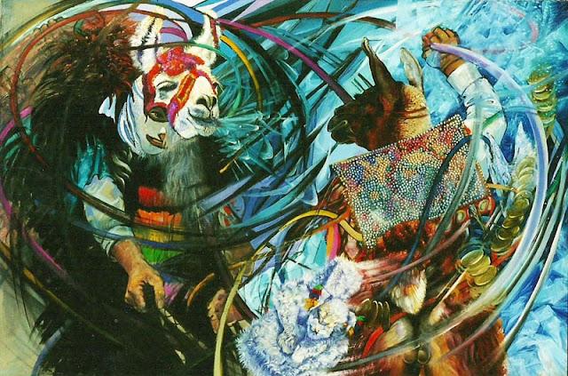 Nueve concejos de Dijujo y Pintura al Oleo en Cusco