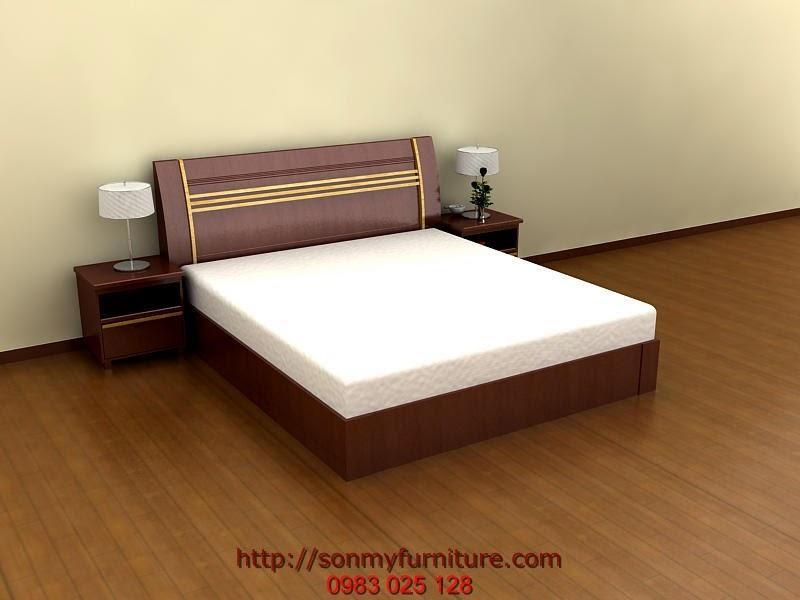 Giường ngủ bằng gỗ 157