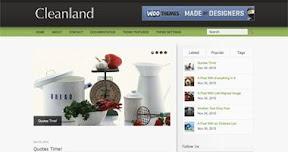 Cleanland WordPress theme