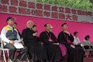 教區運動大會與會貴賓有羅馬教廷特使、狄剛總主教及台灣地區各教區主教神長多人來參觀