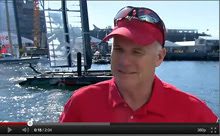 Terry Hutchinson- champion J/24 sailor- sailing America's Cup