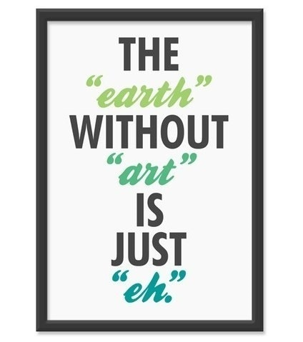 The Earth Without Art Quote