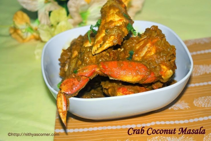nandu masala recipe, crab fry