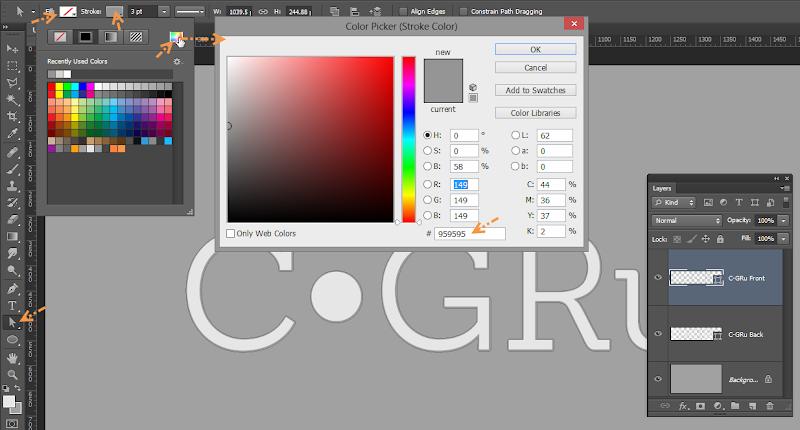 Photoshop - เทคนิคการสร้างตัวอักษร 3D Glowing แบบเนียนๆ ด้วย Photoshop 3dglow05