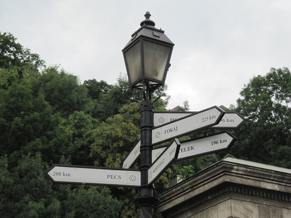 Sign in Budapest