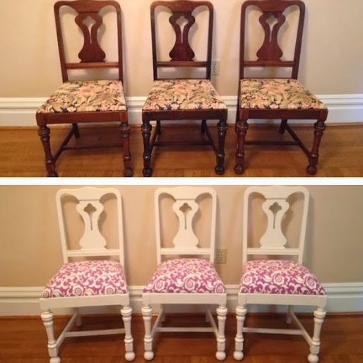 90 Year Old Chair Makeovers