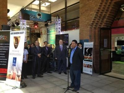 Inauguran de LAC 2012