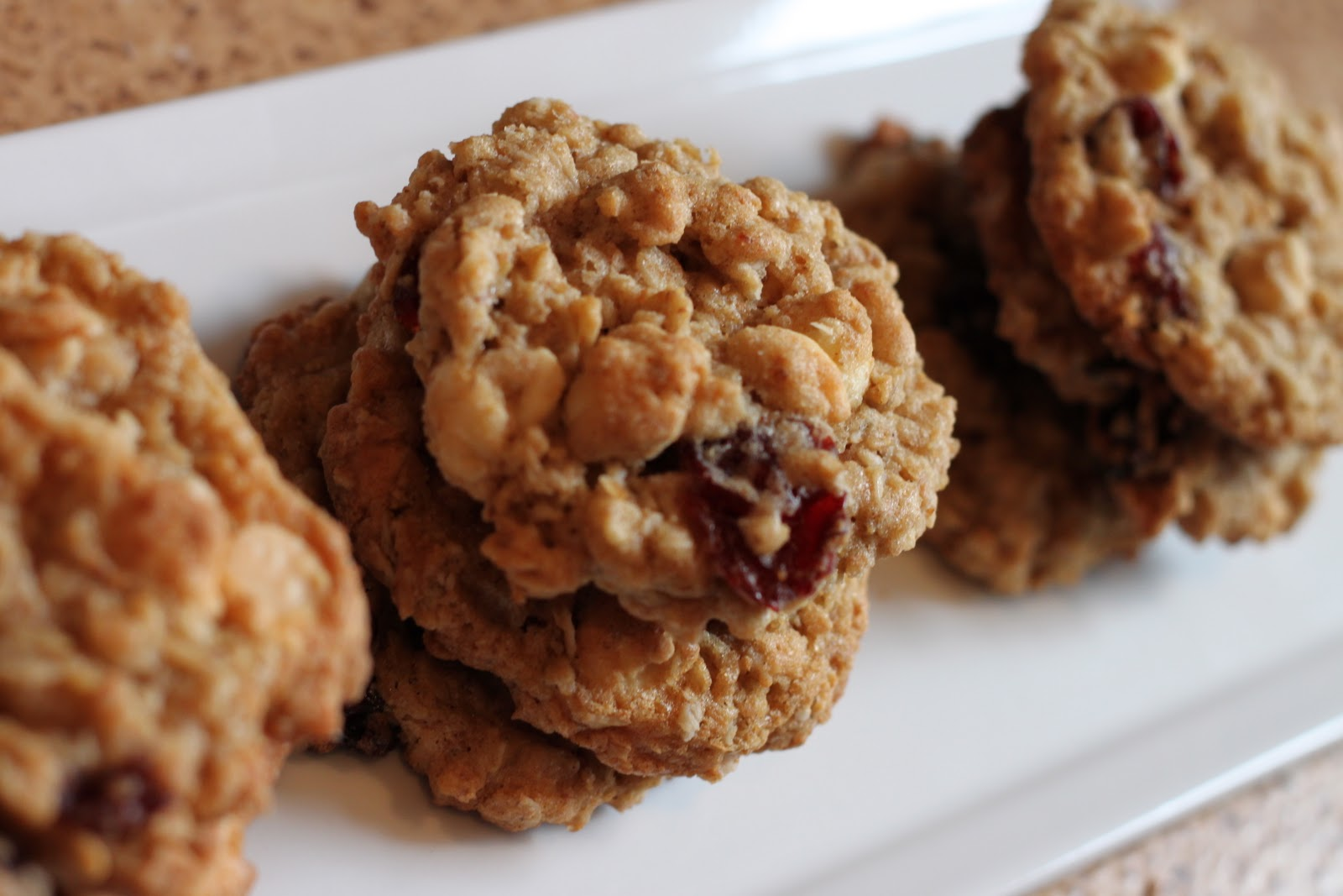 Oatmeal Cherry White Chocolate Cookies Recipes — Dishmaps