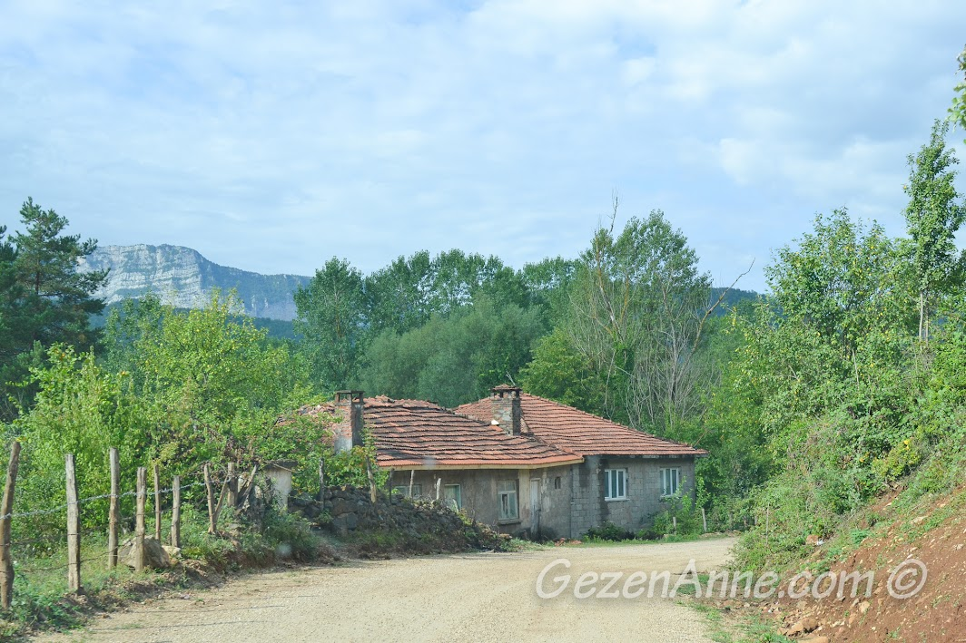 Cide Fara Köy girişi