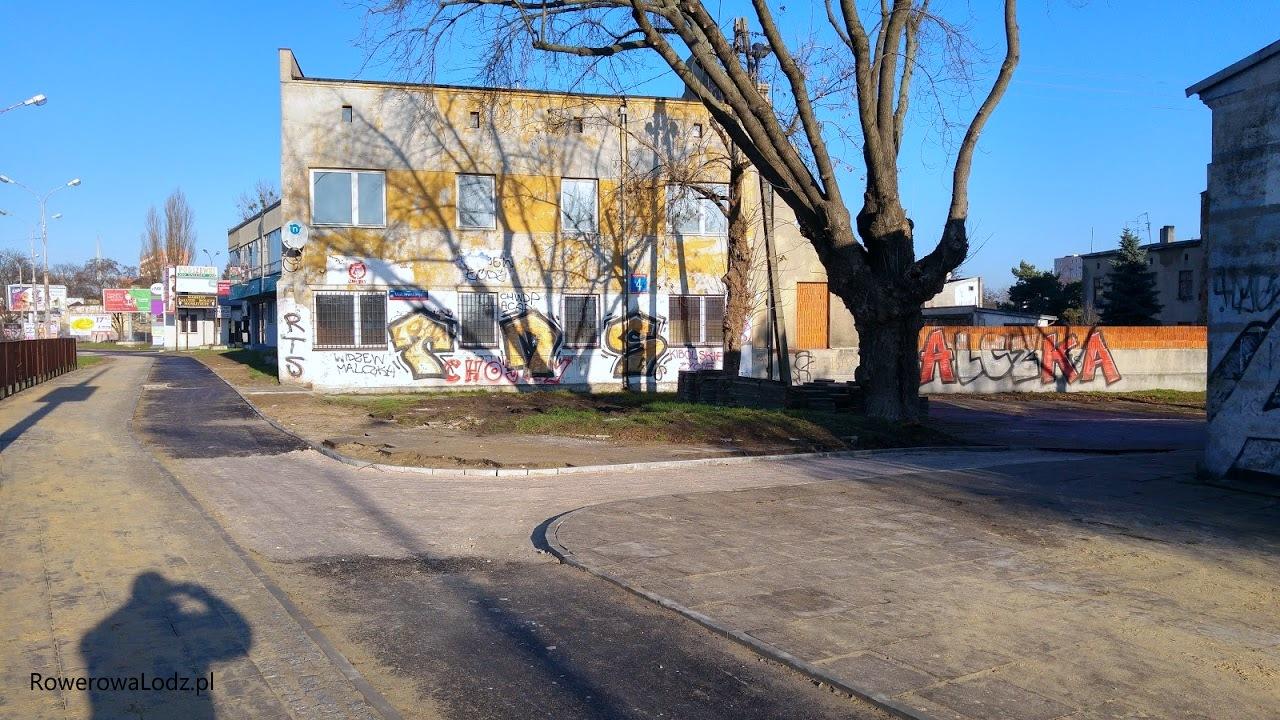 Na nasz wniosek budowana jest łącznica z ul. Malczewskiego