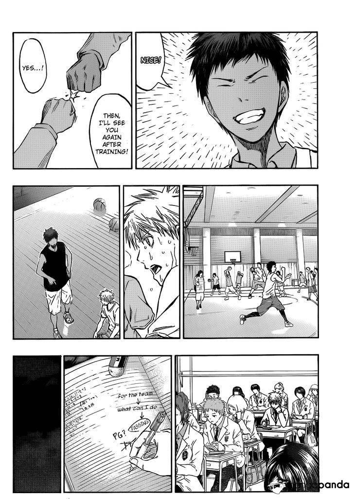 Kuroko no Basket Manga Chapter 206 - Image 11