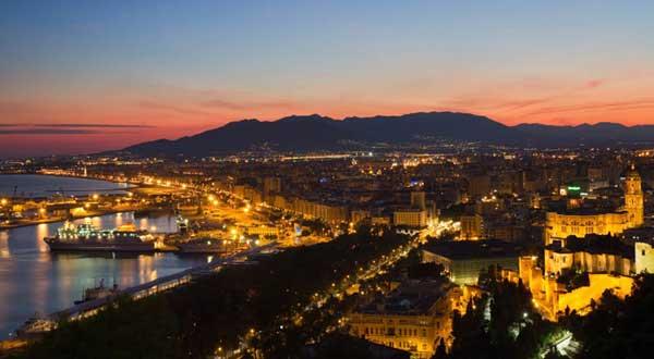 Málaga, panorámica