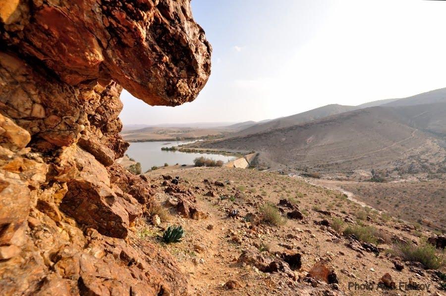 Экскурсия в пустыню Негев, озеро Йерухам.