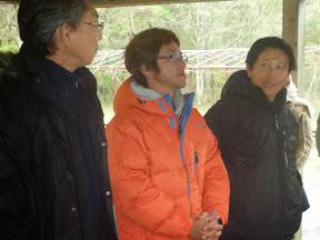 スタッフ反省会2(左から齋藤東北ブロック長、安河内関東Bブロック長、関 関東A ブロック長)