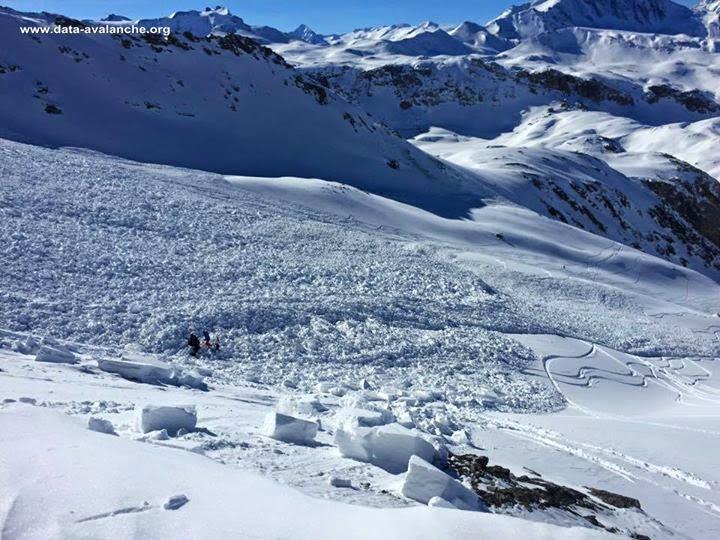 Avalanche Haute Tarentaise, secteur Val d'Isère, Le Fours - Photo 1