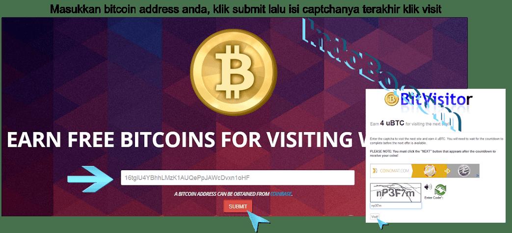 Bitcoin Gratis Tanpa Modal - Tutorial Cara Mendapatkan Bitcoin Gratis