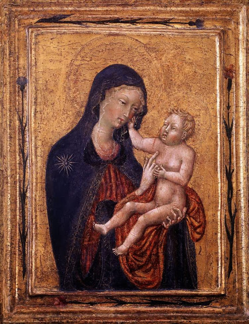 Giovanni di Paolo - Virgin and Child