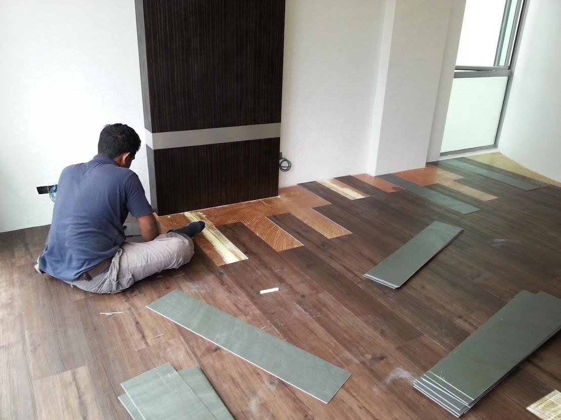install wooden flooring