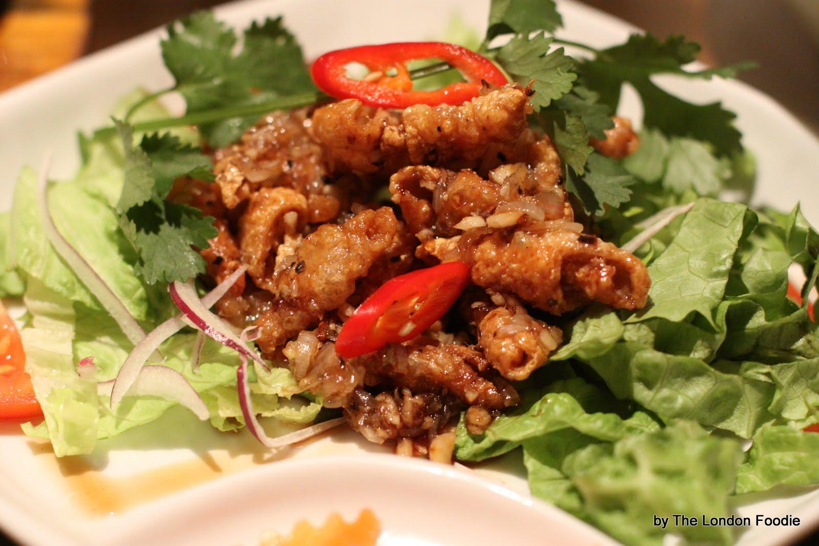 The London Foodie London Restaurant Reviews Mien Tay Kingsland Road
