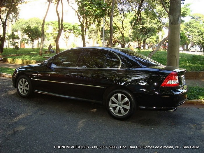 Chevrolet Omega 2004 Blindado - Preço R$ 33.500