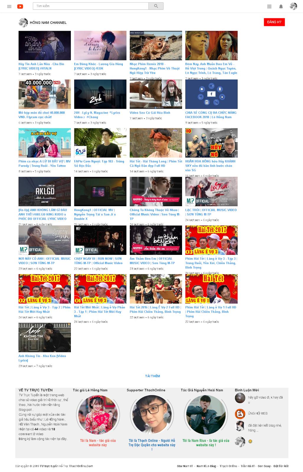 Shase Template Fake Youtube cực ngầu max chất 2018