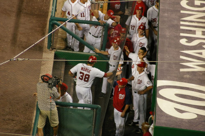 Morse goes back in the dugout