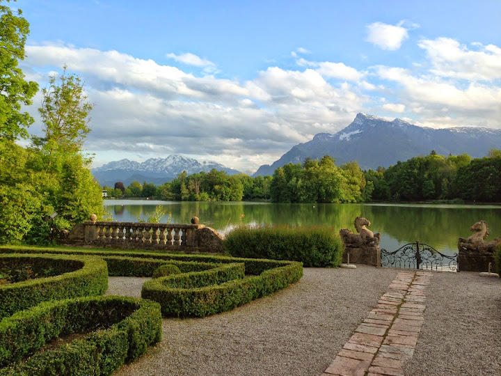 Schloss Leopoldskron (where parts of Sound of Music was filmed).. Todd Felton: #WorkAbroadBecause you will never be the same