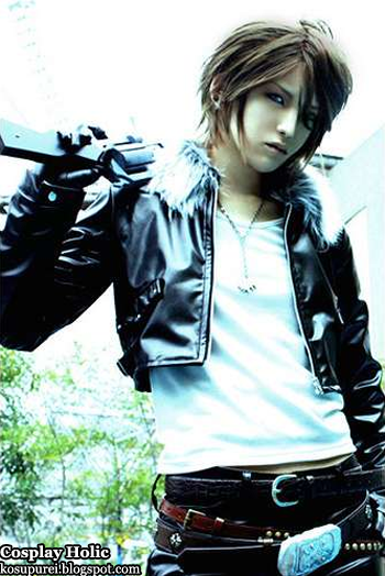 final fantasy viii cosplay - squal leonhart 2