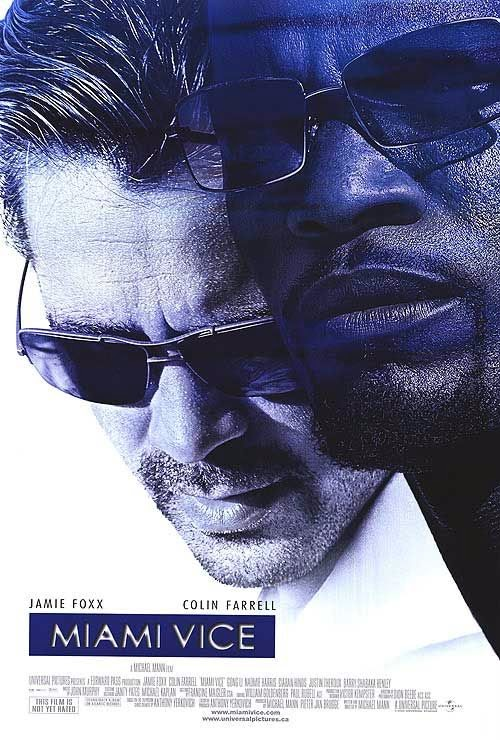 Poster of Miami Vice (2006) Full Movie Hindi Dubbed Free Download Watch Online At alldownloads4u.com