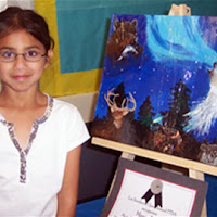 Meera Rao Award winning entry for Reflections Art Contest 2006