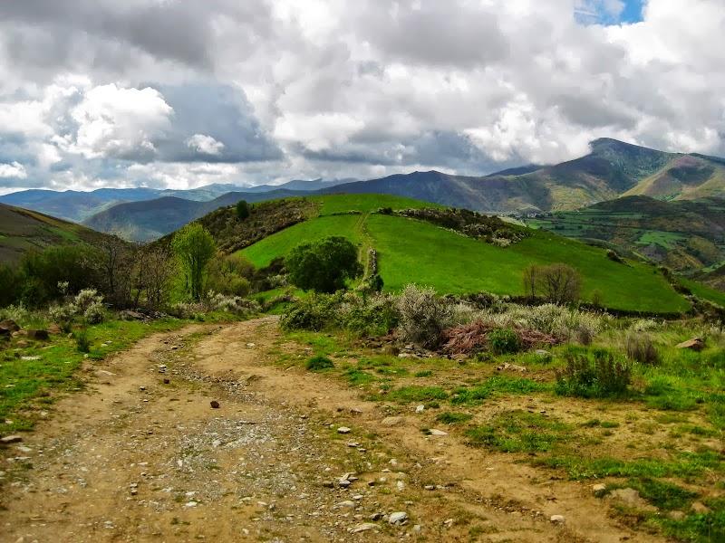 kurz vor der galizischen Grenze