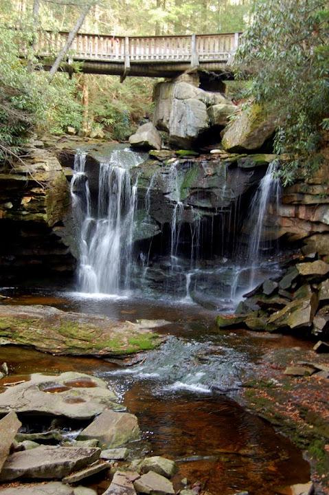 Blackwater Falls State Park >> Elakala Falls #1, West Virginia | The Waterfall Record