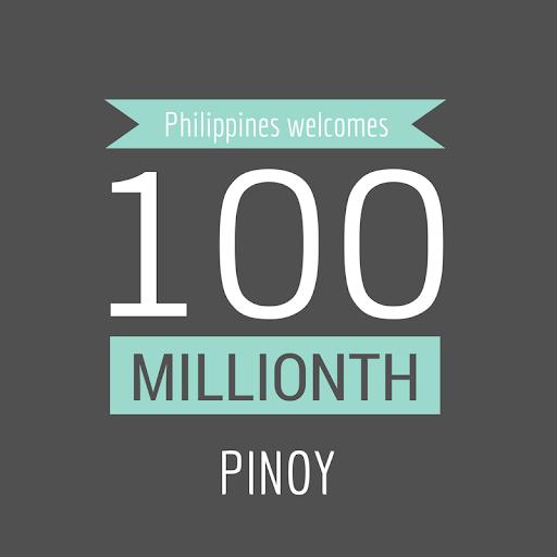 100th million Pinoy