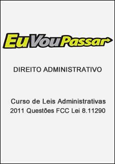 dafcc Download   Curso de Leis Administrativas 2011 Questões FCC Lei 8.112 90