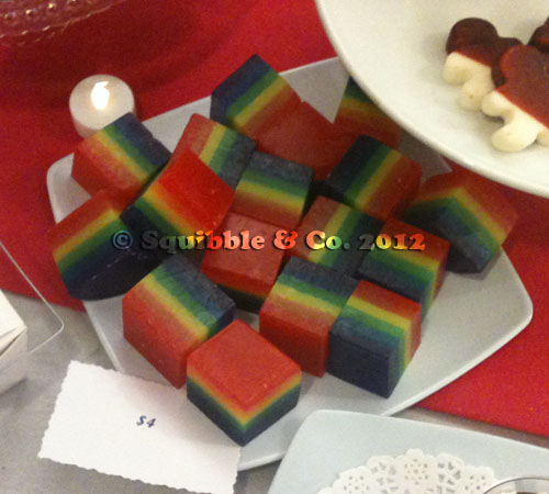 Rainbow Soaps by Lavage