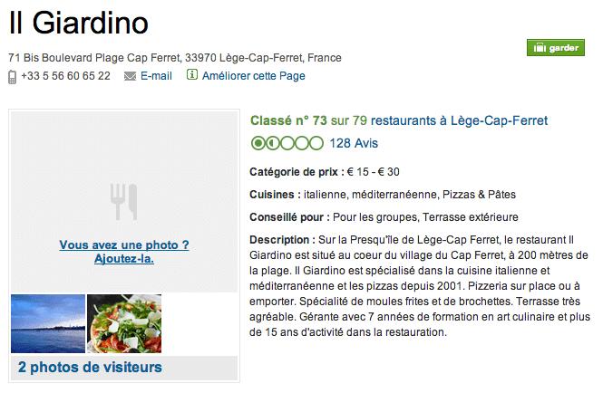 Il Giardino in Cap-Ferret